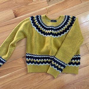 2/$40 💛 Zara mustard sweater